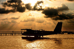 Consoles de Maldives Foto de Stock