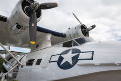 Consolidated Catalina flying boat Stock Image