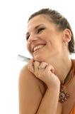 Consommateur heureux Image libre de droits