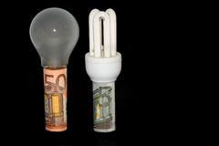 Consommation d'énergie 2 photographie stock libre de droits