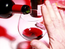 Consommation d'alcool photos stock