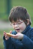Consommation d'enfant Photos stock