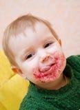 Consommation d'enfant Photographie stock libre de droits