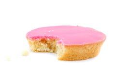 Consommation d'un gâteau Photos libres de droits