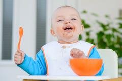 Consommation de bébé Photographie stock