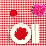 Consommation de l'amour Image stock