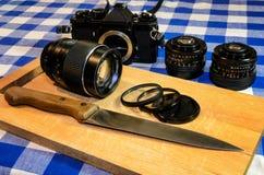 Consommation de la photographie Image libre de droits