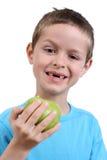 consommation de pomme Photo libre de droits