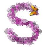 Consonne S de lettre alphabétique Photographie stock