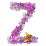 Consonne Z de lettre alphabétique Photo libre de droits