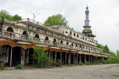 Consonno's ruins Stock Photo
