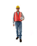 Consruction Supervisor Royalty Free Stock Image