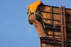Consruction worker 2 Royalty Free Stock Photography