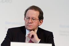 const σκαπάνη β Προέδρου ncio ΕΚΤ κακία Στοκ Φωτογραφία