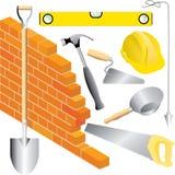 Const del muratore Immagine Stock