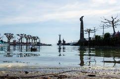 18 04 579 Constance避风港的看法  免版税库存图片