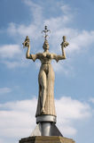 Constance, Allemagne : Statue d'Imperia Photo stock