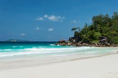 Constance Lemuria Beach, Seychelles Fotografie Stock