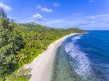 Constance Lemuria hotel, Seychelles Royalty Free Stock Image