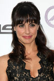Constance Zimmer. LOS ANGELES - OCT 15: Constance Zimmer arriving at the 2011 Environmental Media Awards at the Warner Brothers Studio on October 15, 2011 in royalty free stock photo