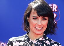 Constance Zimmer stock photo