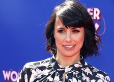 Constance Zimmer royalty free stock images