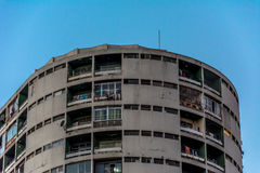 Constancia大厦的Enternal顶视图在市中心 库存照片
