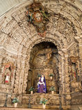 Constancia Mesiricordia church altar Royalty Free Stock Photos