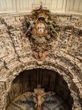 Constancia Mesiricordia church blazon. Altar from Constancia Mesiricordia church Stock Photo