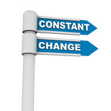 Constant change Stock Images