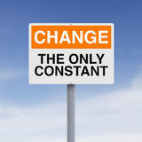 Constant Change Stock Image