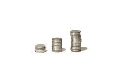 Constant revenue. Constant growth earning each year Royalty Free Stock Photo