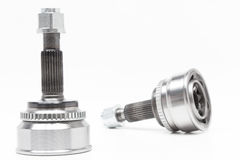 Constant Velocity Joints. CV Joints. Constant Velocity Joints. Part wheel of the car Royalty Free Stock Photos