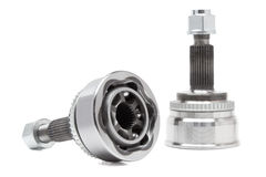 Constant Velocity Joints. CV Joints. Constant Velocity Joints. Part wheel of the car Stock Images