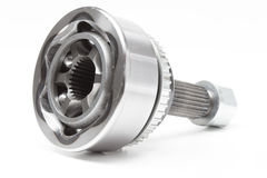 Constant Velocity Joints. CV Joints. Constant Velocity Joints. Part wheel of the car Stock Image