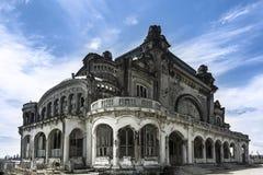 Constanta娱乐场,罗马尼亚 免版税图库摄影