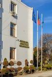 Constanta, Ρουμανία - 6 Ιανουαρίου: Το τοπικό διοικητικό Συμβούλιο επάνω Στοκ εικόνα με δικαίωμα ελεύθερης χρήσης