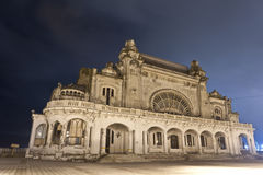 Constanta的老娱乐场,罗马尼亚 库存图片