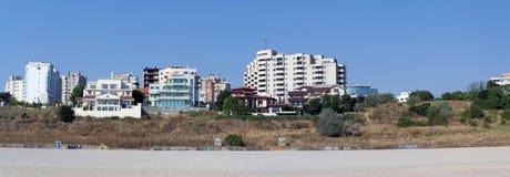 Constanta beach and Black Sea shore Royalty Free Stock Photo