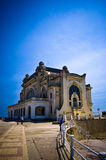 Constanta Casino. Emblematic casino on the shore of the Black Sea in Constanta, Romania Royalty Free Stock Photo