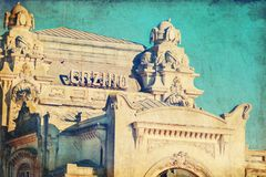 Constanta famous Casino vintage building Royalty Free Stock Image