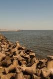 Constanta-Hafen, Rumänien stockbilder