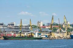 Constanta-Hafenwerft Stockbild