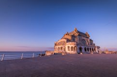 Constanta kasyno, Czarny morze, Rumunia - atrakcja turystyczna obrazy stock