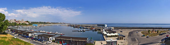 Constanta Panorama Royalty Free Stock Photo