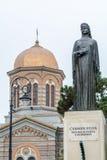 Constanta, Romania � December 26: Carmen Silva Statue near cente Stock Images