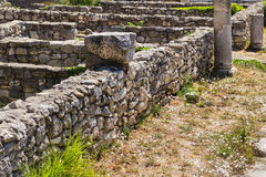 Constanta ruins Stock Photography