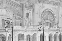 Constanta, Rumania 27 de diciembre: Casino Constanta el 2 de diciembre Fotos de archivo