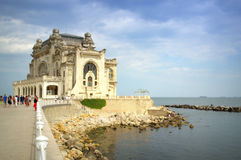 Constanta seafront view,Romania Royalty Free Stock Photography