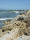 Constanta seashore Royalty Free Stock Photos